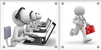 Абонентское обслуживание компьютеров и серверов